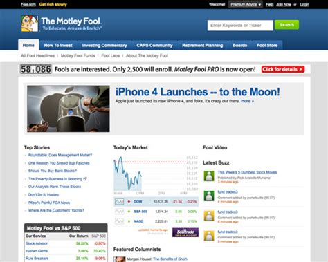 8 Financial Websites by Inspiring Finance And Investment Web Designs The