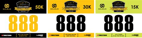 race number template soleus valley trail challenge it s about time