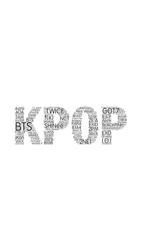 btskpop word cloud wallpapers ph concert announcement