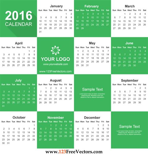 printable calendar vector free calendar 2016 download by 123freevectors on deviantart