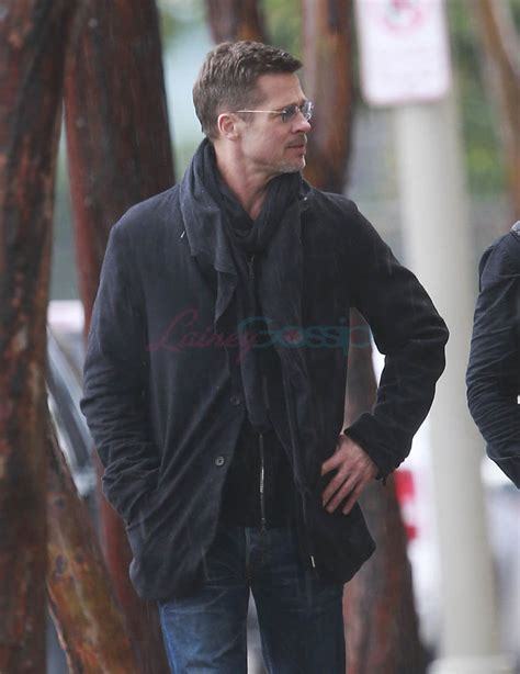Pitt On by Brad Pitt Steps Out In La Looking As S