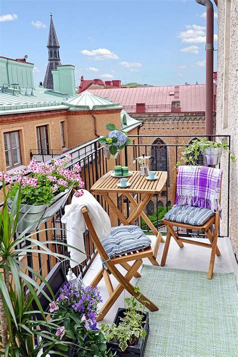 deco balcony 15 small balcony apartment with charming looks house design and decor