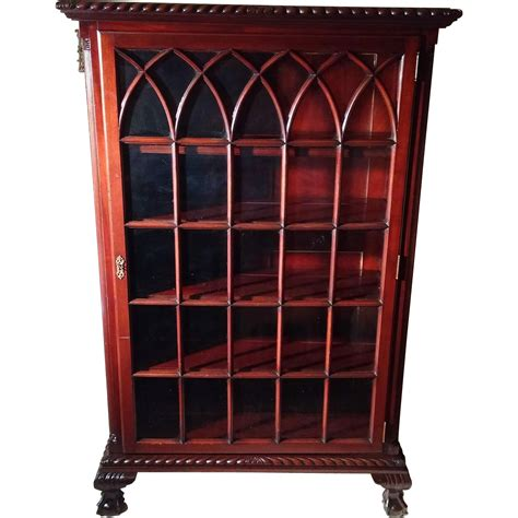 Chippendale China Cabinet by Antique Chippendale Claw Foot Mahogany China