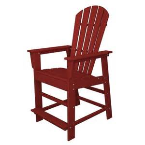 recycled material patio furniture polywood outdoor furniture south counter chair