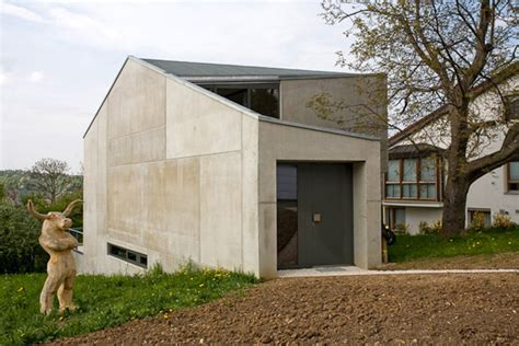 one room house concrete one room house by bruning architekten