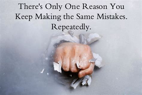 reason   making   mistakes