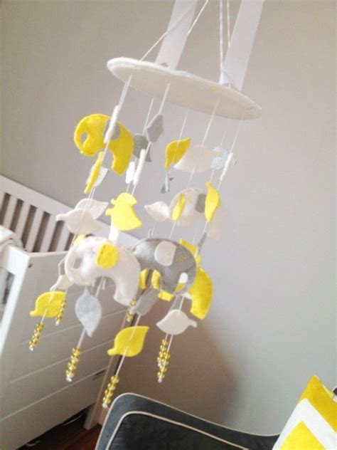 Yellow Crib Mobile by Reader An Adorable Do It Yourself Nursery