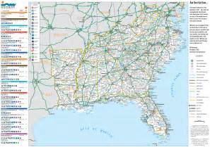 map of south eastern united states southeastern united states southeast u s