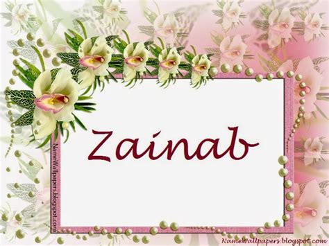 New Zainab By Al Arabian zainab name with meaning related keywords zainab name