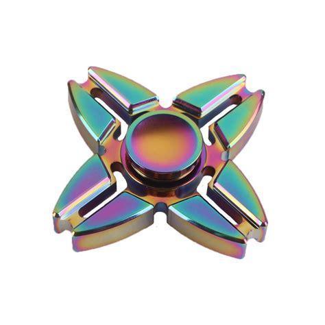 Fidged Spinner Metalic I You iridescent fidget spinner