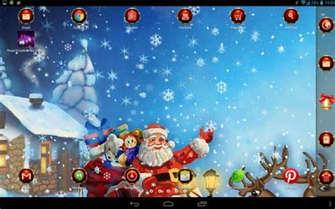 themes merry christmas free christmas themes live wallpapers for your android