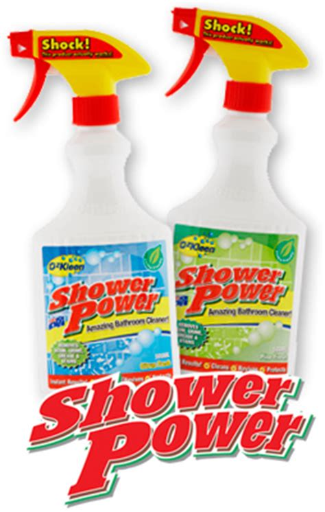 Shower Power by Ozkleen Shower Power Reviews Productreview Au