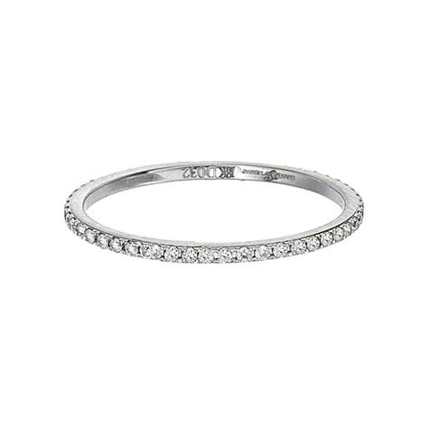 thin eternity band engagement rings
