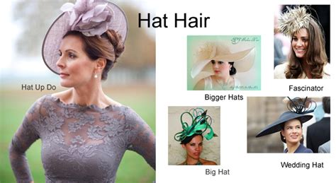 Wedding Hat Styles For Hair by Helen Hair And Makeup Tips And Advice Hat Hair