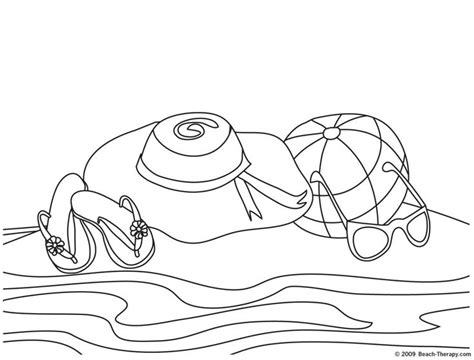 beach hat coloring page 46 best coloring pages images on pinterest coloring