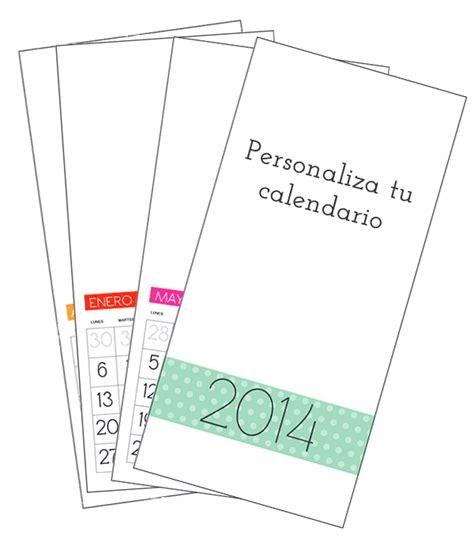 Hacer Calendario Personalizado Manualidades C 243 Mo Hacer Calendario Personalizado 2014