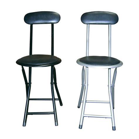 shop ore international  pack steel metallic standard folding chairs  lowescom