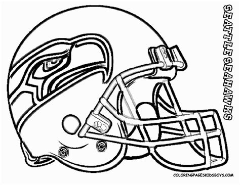seahawks coloring page coloring home
