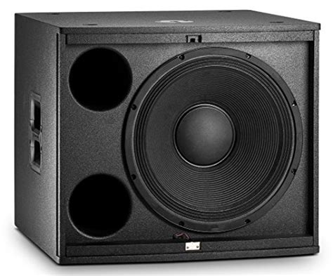 jbl eon618s 18 quot self powered subwoofer audio info