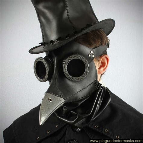 Masker Gas steunk bubonic plague doctor mask costume