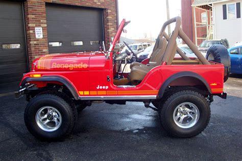 jeep 1980 cj5 1980 motors jeep cj5 195528