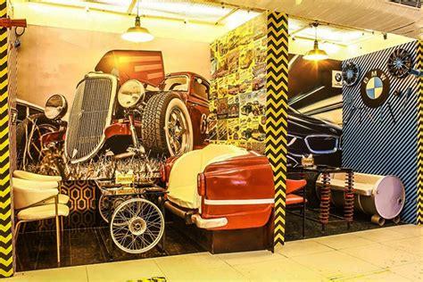 gtb nagars    car themed restaurant  shouldn