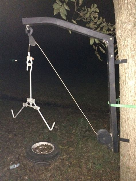 Deer Cleaning Rack by Portable Deer Cleaning Station And Fishing