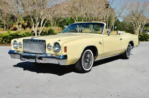 Chrysler Cordoba Convertible 1977 Chrysler Cordoba Convertible On Ebay Mopar