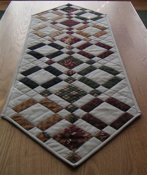 quilted tablecloth table linens table runner patchwork pinterest runners patterns