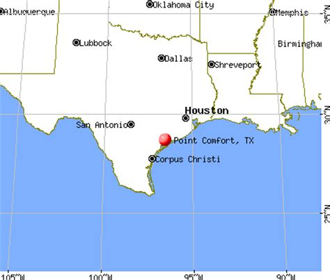 comfort texas map point comfort texas