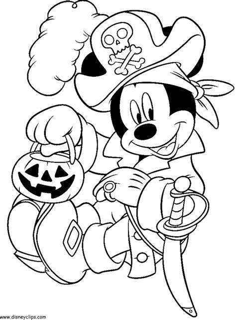 mickey mouse coloring pages for halloween free disney halloween coloring sheets ハロウィーン ぬりえ 塗り絵