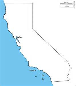 blank map of california california free map free blank map free outline map