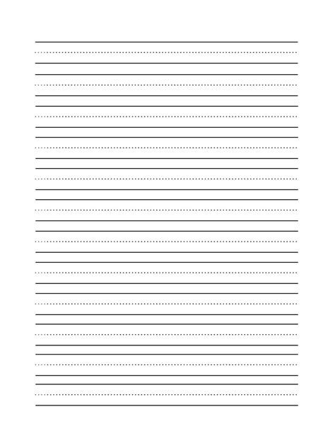 blank writing template kindergarten writing sheets printable 7 best images of