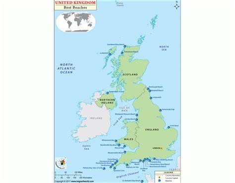 map uk beaches buy uk beaches map