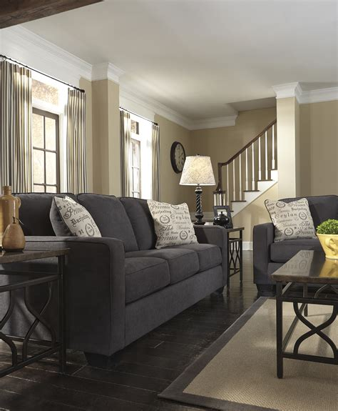 living room with charcoal sofa alenyacharcoal livingroom lovely living rooms