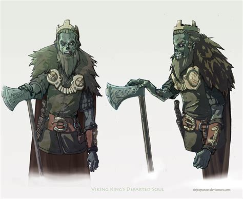 viking king s departed soul by sirjoepanzer on deviantart
