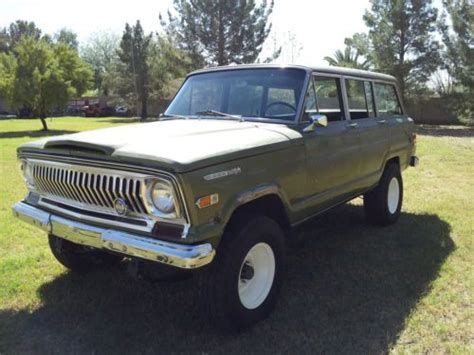 jeep kaiser wagoneer buy 1969 jeep wagoneer kaiser era series 1 cj