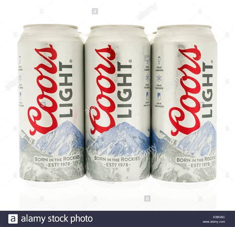 is coors light a pilsner coors beer stock photos coors beer stock images alamy