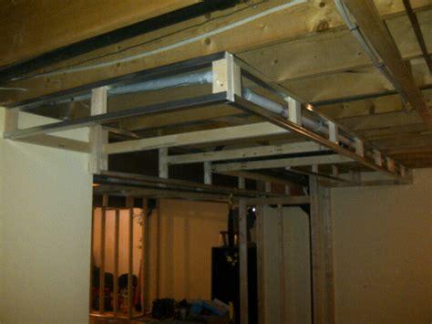 Framing Basement Ceiling by Basement Fresh Reno