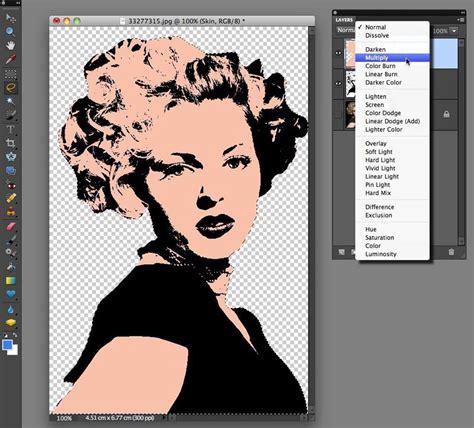 tutorial photoshop art pop warhol style pop art effect with photoshop elements