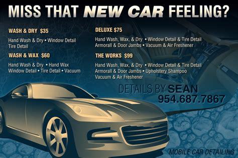 auto detailing flyer template car detailing service flyers wallpaper