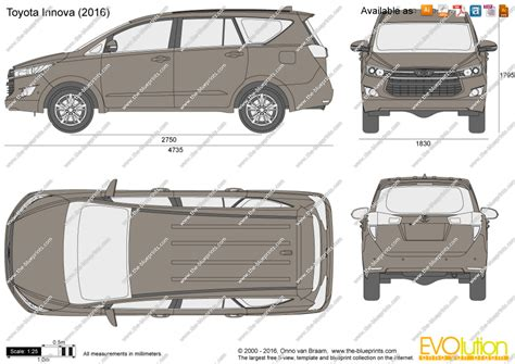 Blueprints Online the blueprints com vector drawing toyota innova