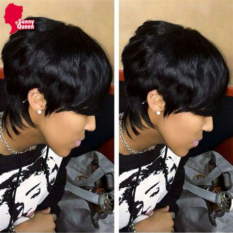 red short hair styles with the 27 pieces images brazilian virgin hair 27 pieces short human hair weave