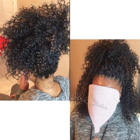 crochet braids pictures pony tails 196 likes 5 comments hairbyjuu crochetlady doyoujuu