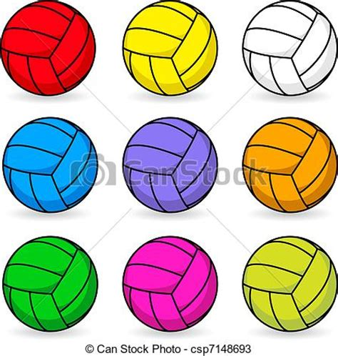 Vector Clip Of A Set Of Different Colored Vectors Of In Different Colors Csp7148693 Search