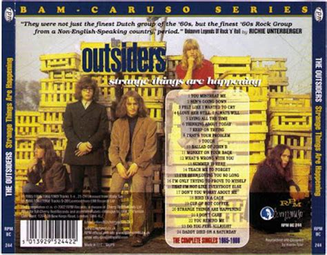 the outsiders c q full stereo album 1968 music archive the outsiders strange things are