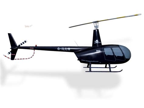 Handmade Helicopter Models - robinson r44 leisure parks model helicopters 194 50