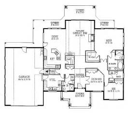 2400 Sq Ft House Plans Colonial House Plans 2400 Square Feet