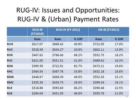 rug rates definition rug medicare rug