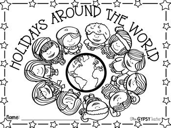 coloring pages of christmas around the world christmas around the world book cover and coloring page